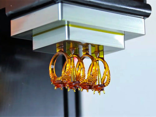 envisiontec jewellery printing in castable materials