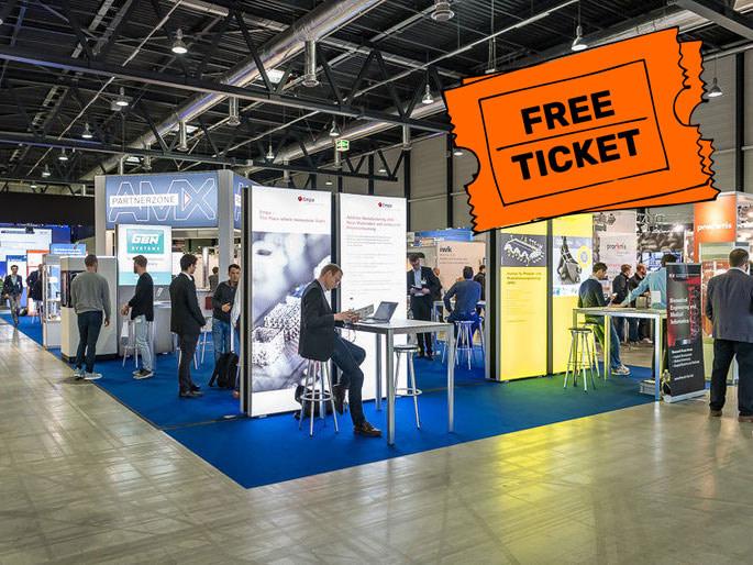 Free Ticket AMX AM Expo Luzern