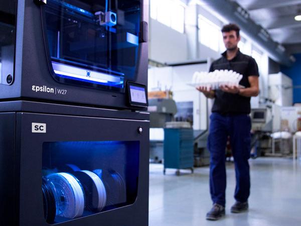 BCN3D Epsilon produzione