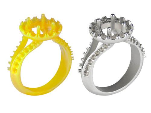 3dprint jewelry casting